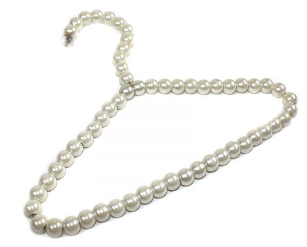 Perlen Kleiderbügel für Kinder - Design KLASSISCH
