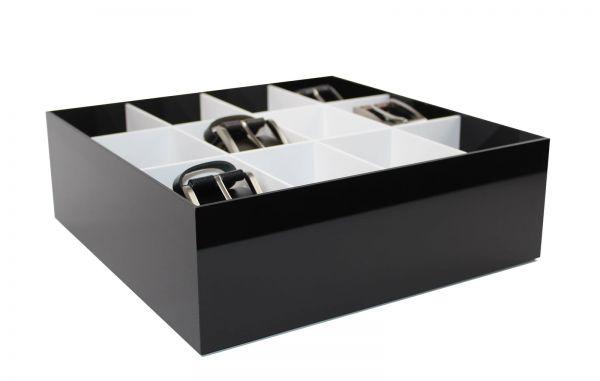 Acryl Gürtel-, Krawattenbox